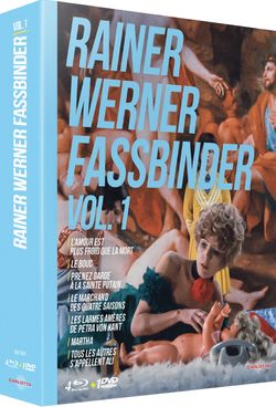Coffret DVD Blu-Ray Rainer Werner Fassbinder, volume 1