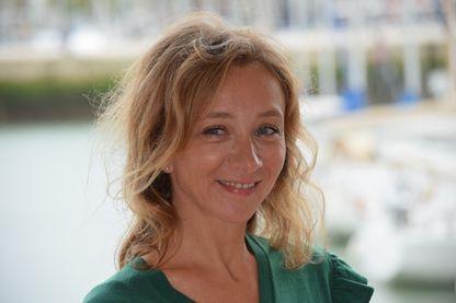 Sylvie Testud en septembre 2017 à La Rochelle