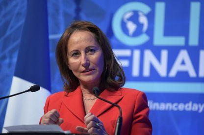 Ségolène Royal au Climate Finance Day au Ministère de l'Economie à Paris en décembre 2017.