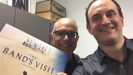 David Yazbek et Laurent Valière à New York