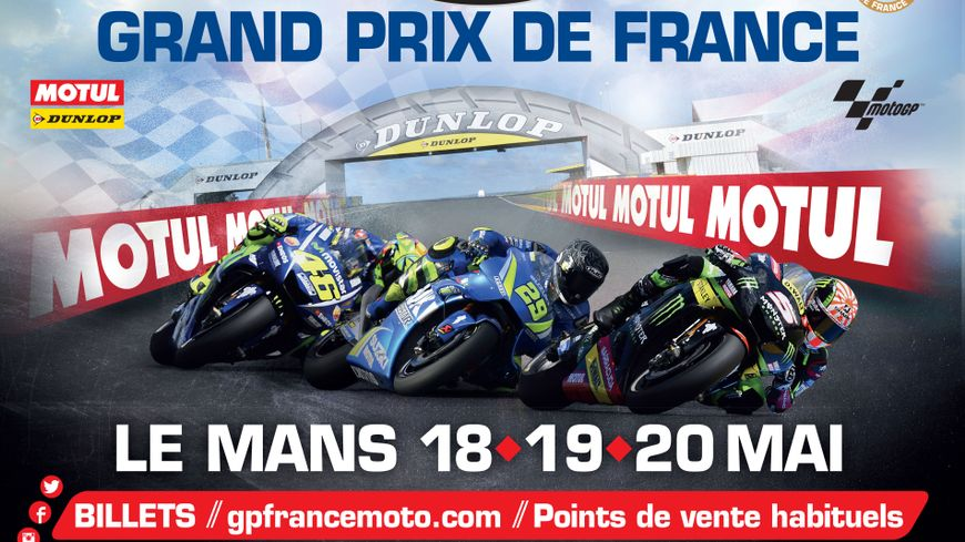 le mans trois bonnes raisons d 39 assister au grand prix de france moto. Black Bedroom Furniture Sets. Home Design Ideas