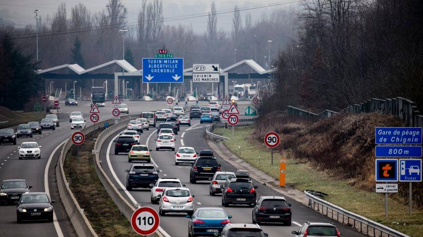 L'A43 coupée jeudi matin en raison d'un accident (illustration)