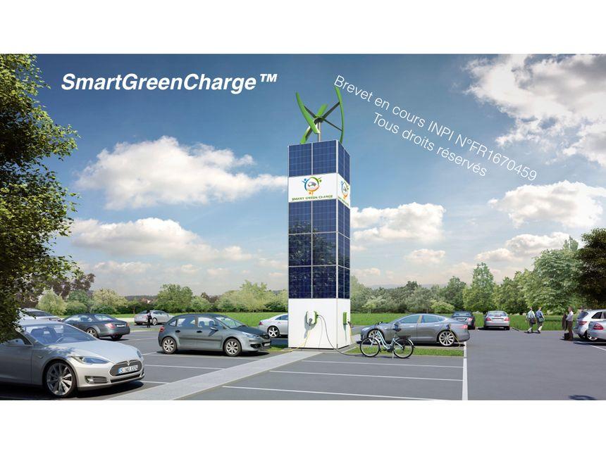 La smart green charge highway