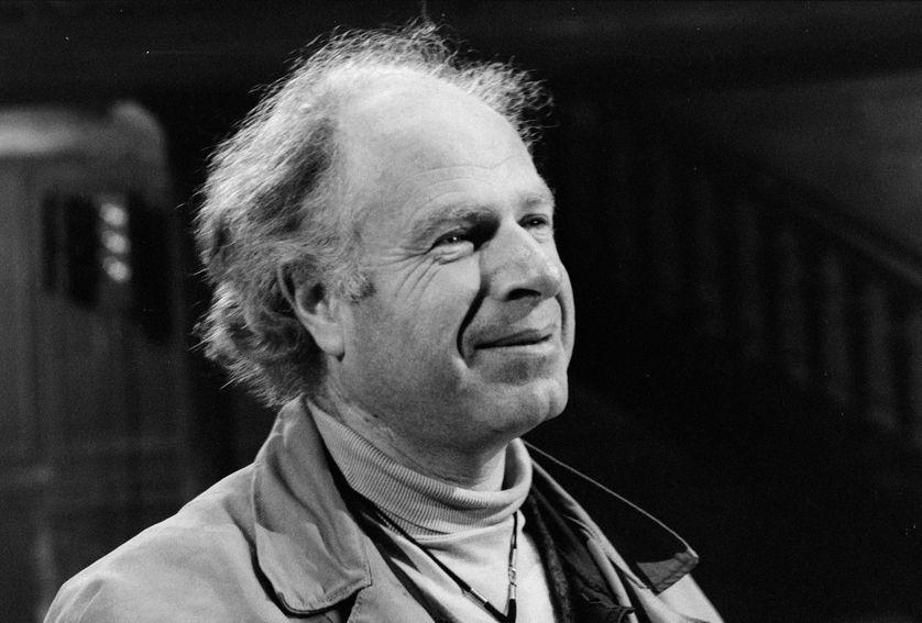 Portrait de Peter Brook en 1974.