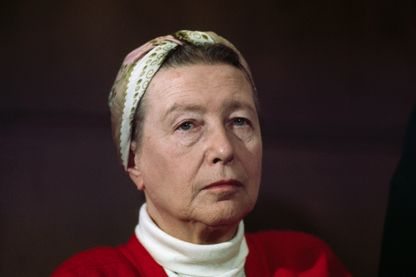 Simone de Beauvoir en 1968