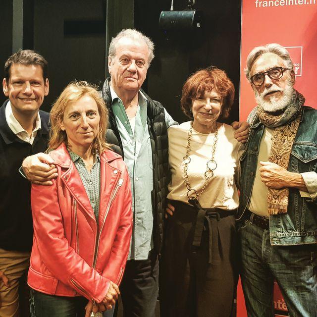Vincent Josse, Joëlle Gayot, Jacques Grange, Laurence Benaïm et Alain Marchais, invités du grand atelier consacré à Yves Saint Laurent