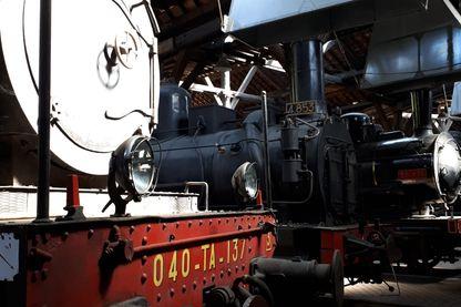 Train à Vapeur au Musée Vivant du Train à Vapeur à Longueville près de Provins en Seine et Marne