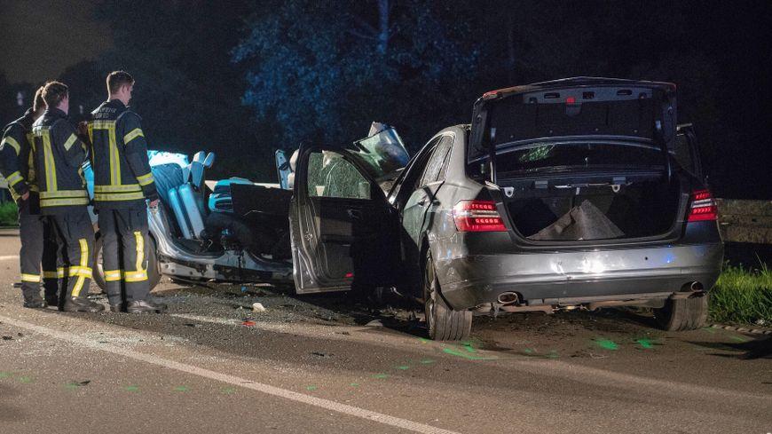 L'accident s'est produit dans la nuit de mardi à mercredi côté allemand