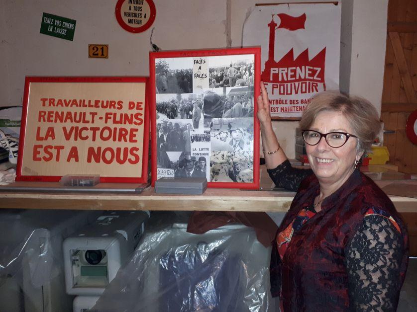 """Fabienne Lauret, auteur de """"L'Envers de Flins : une féministe révolutionnaire à l'atelier"""