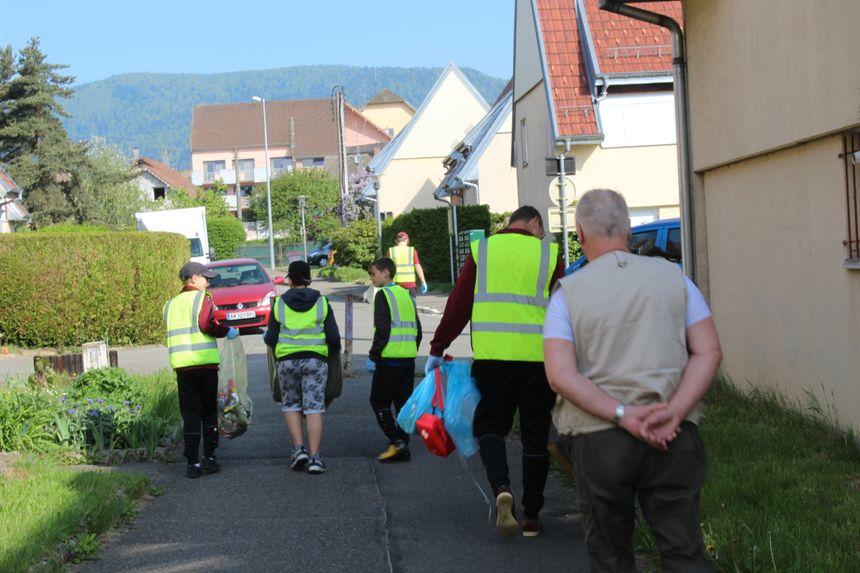 """L'année dernière, une vingtaine de kilos de déchets divers avait été récoltée lors de l'opération """"Giro Propre"""""""