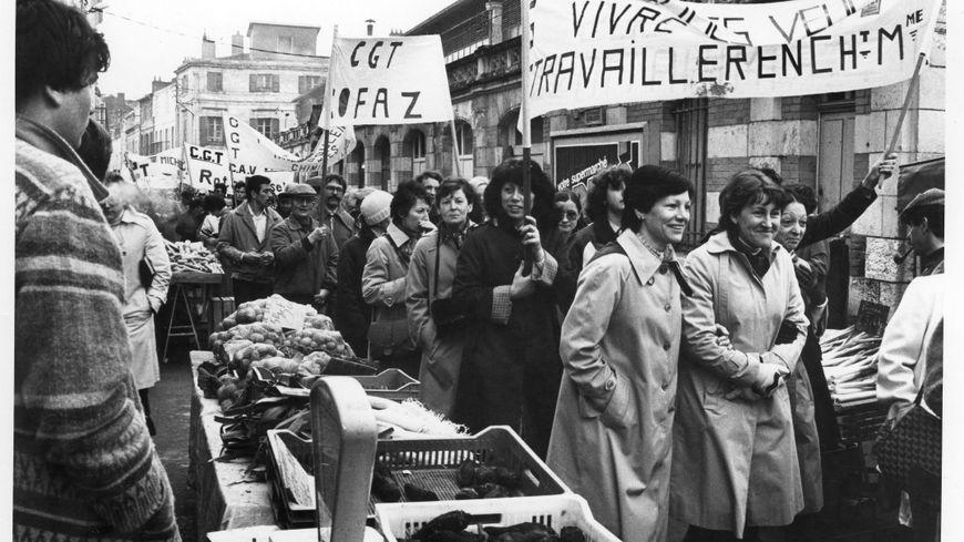 La CGT enregistre des centaines d'adhésions à La Rochelle durant la grande grève de 1968