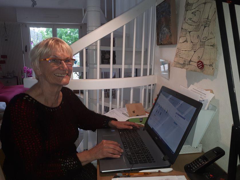Louisette Guibert, militante féministe à Nantes, a été la femme de Jacques Sauvageot
