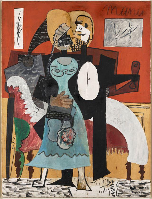 Pablo Picasso Les Amoureux, 1919