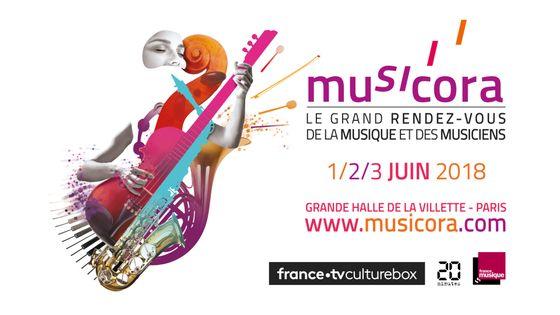 Retrouvez France Musique du 1er au 3 juin à l'occasion de Musicora !