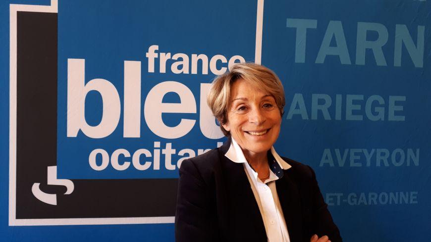 Brigitte Barèges, maire de Montauban
