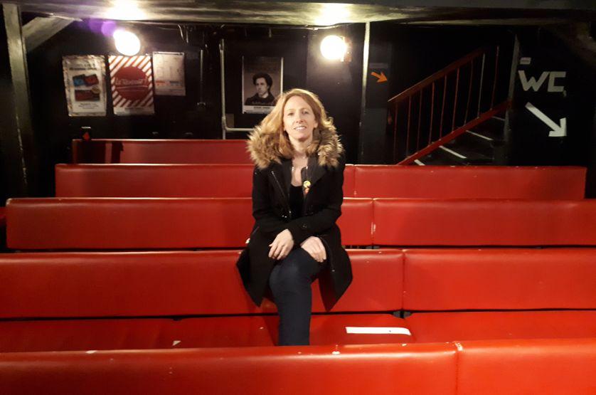 Antoinette Colin, directrice du Point Virgule, célèbre salle parisienne de 100 places.