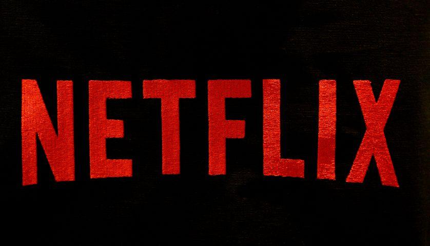 Logo Netflix pris en photo à Paris le 15/09/2014.