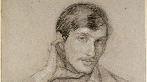 Fernand Ochsé par Louise-Catherine Breslau (détail)