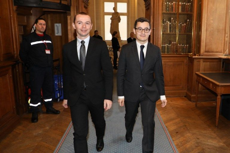 Gerald Darmanin et Olivier Dussopt au ministère de l'action et des comptes publics, favorables à la généralisation du salaire au mérite.