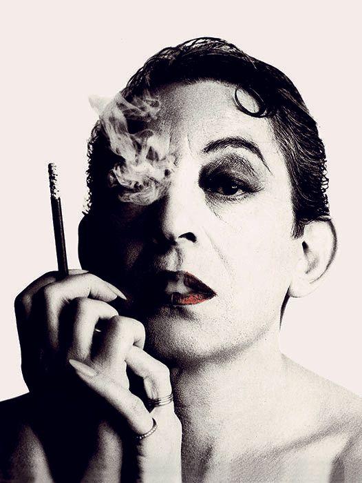 "William Klein, ""Serge Gainsbourg"", (album cover of Love on the Beat), Paris, France, 1984"