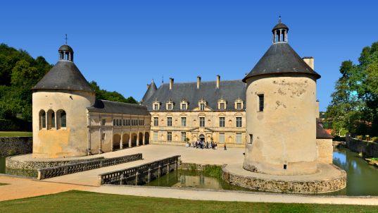 Le Château de Bussy-Rabutin à Bussy-Le-Grand