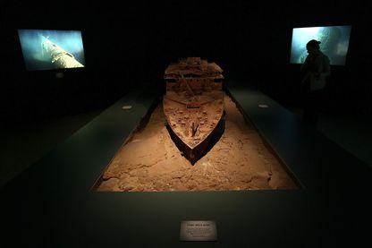 Dans l''exposition Titanic 100 ans d'obsession à Washington en 2012