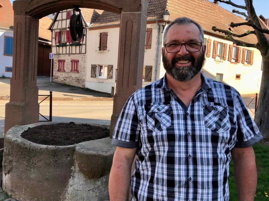 Bergbieten, Thierry Dentel, président du comité de jumelage