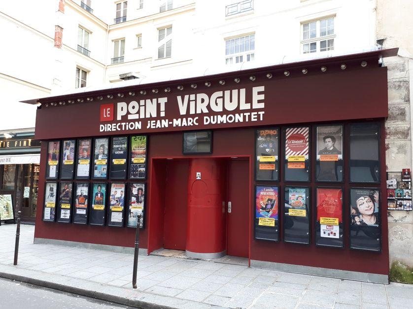 La célèbre salle Le Point Virgule à Paris, propriété du producteur Jean-Marc Dumontet.