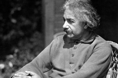 Albert Einstein (en 1931?)