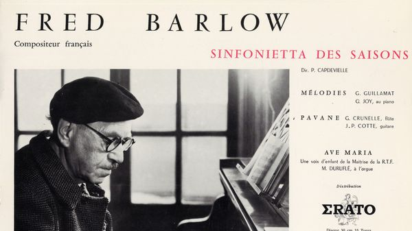 Le compositeur français Fred Barlow