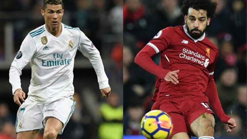 Cristiano Ronaldo (Real Madrid) et Mohamed Salah (Liverpool).