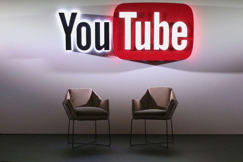 Dans les locaux de YouTube en juin 2017