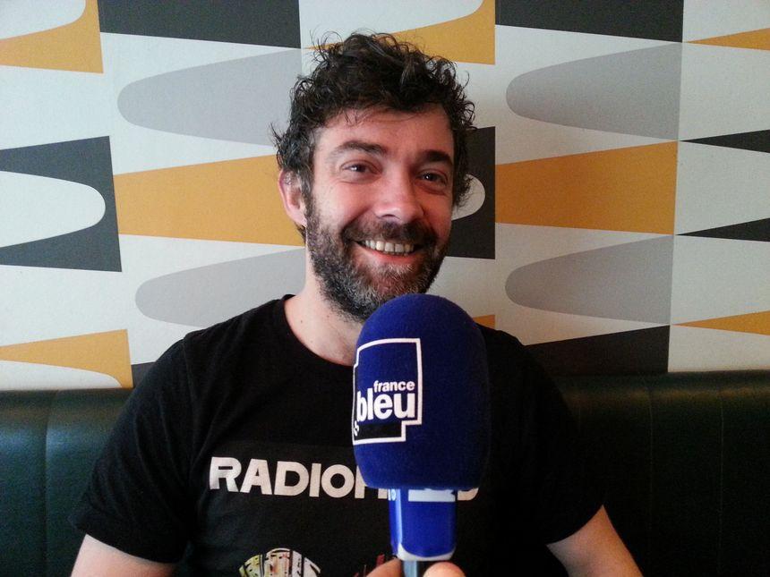 Romain Rebuisson, créateur du restaurant