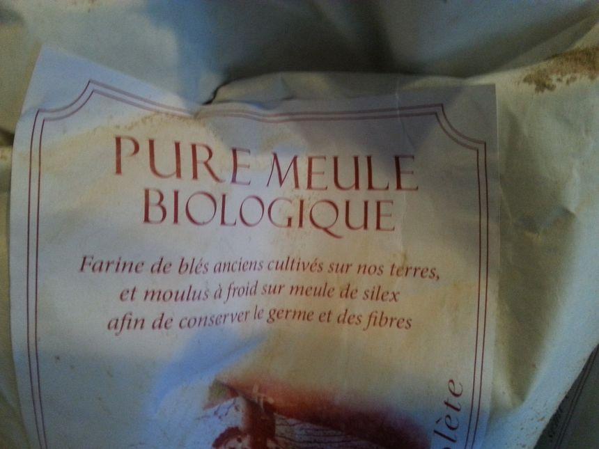 Farine de blés biologique