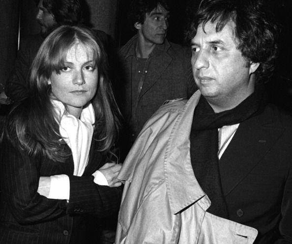 Isabelle Huppert et Michael Cimino à la première de La Porte du Paradis (Heaven's Gate) à New York (1980