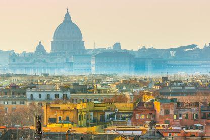 Rome dans le roman français