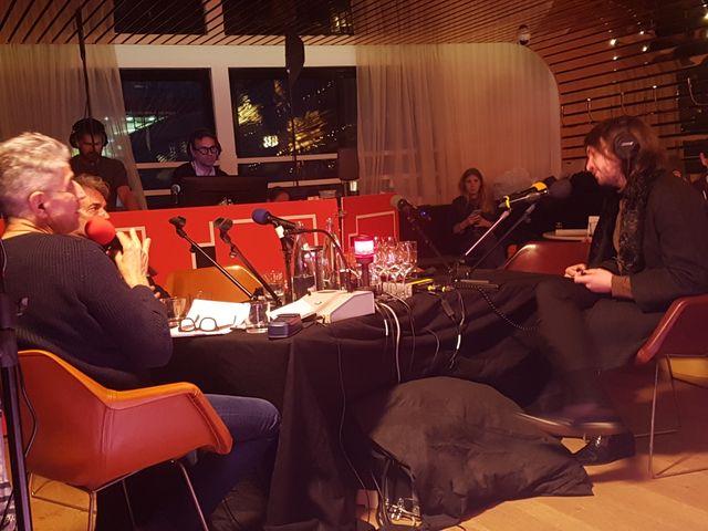Bernhari face à Yves Simon et Didier Varrod