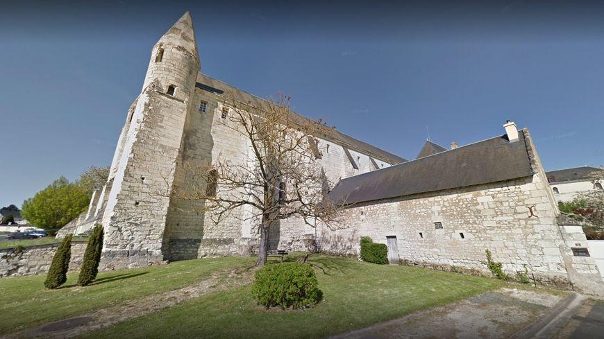 Capture Google Abbaye de Bourgueil