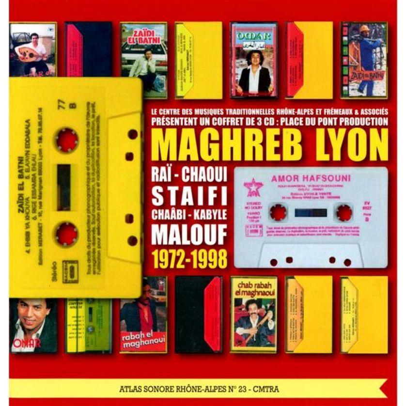 """La compilation """"Maghreb Lyon - Place du Pont production - 1972-1998"""""""