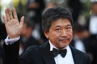 """Le réalisateur japonais Hirokazu Kore-Eda présente à Cannes """"Une affaire de famille"""""""