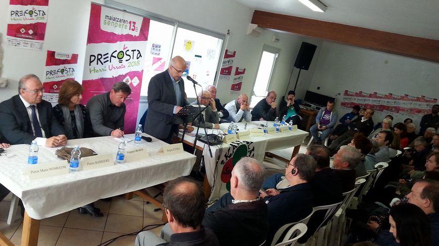 L'augmentation des effectifs dans les établissements immersifs en langue basque et le manque d'enseignants au coeur de la traditionnelle prise de parole de cette 35ème édition d'Herri Urrats