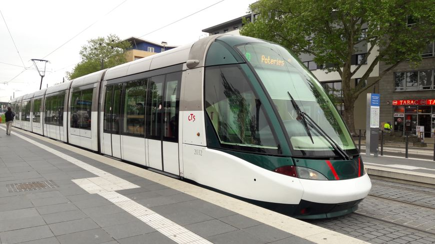 Tramway entre Kehl et Strasbourg, le 2 mai 2018