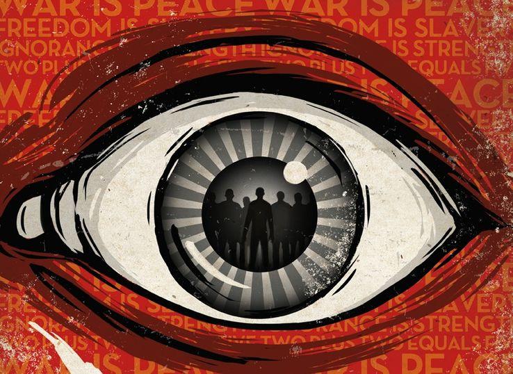 """Couverture d'une édition de """"1984""""."""