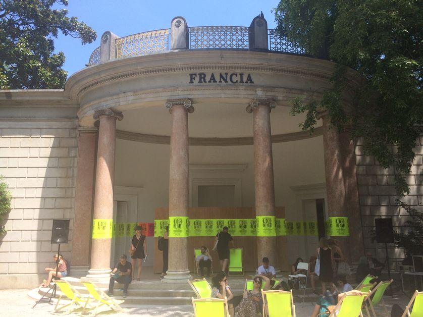 La pavillon français à la 16ème Biennale d'architecture