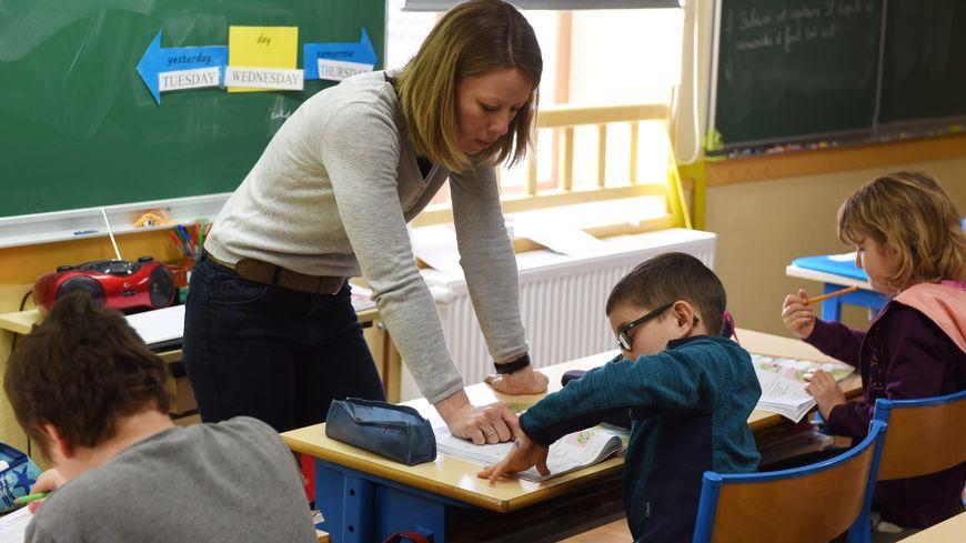 une classe d'école (illustration)
