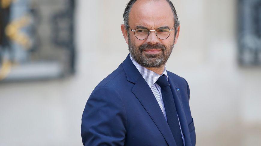 Edouard Philippe, le Premier Ministre, à la sortie du conseil des ministres à Paris, le 23 mai 2018.