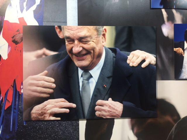 Jacques Chirac par Mélanie-Jane Frey