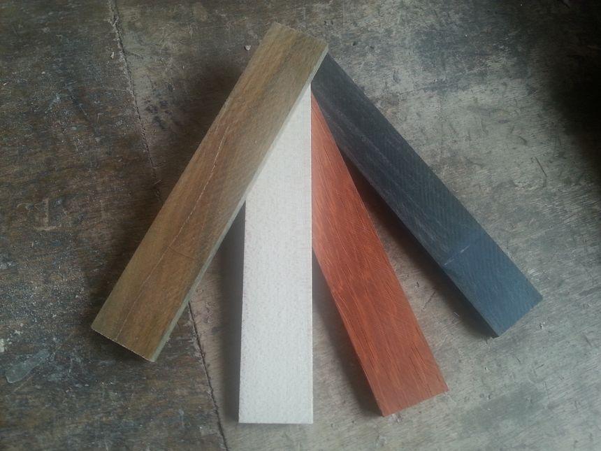 Essence de bois des 4 couleurs du Périgord