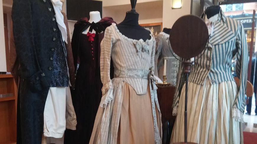 Tous ces costumes ont été portés pendant des opéras au Capitole