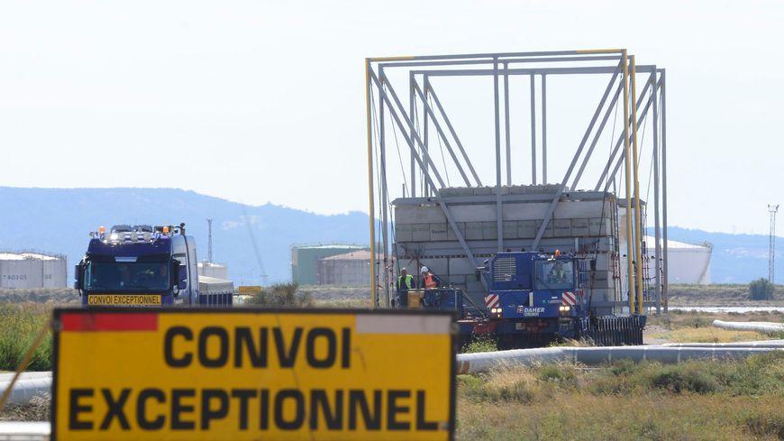 Un convoi ITER circulera lundi et mardi soir dans le nord des Bouches-du-Rhône